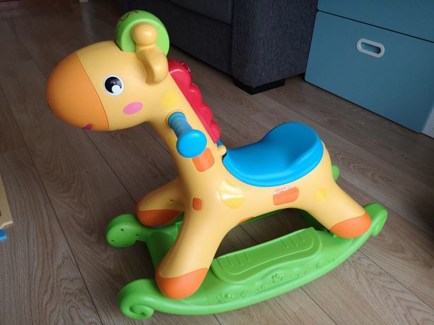Girafa baloiço tipo Fisher Price
