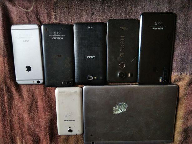 Телефони і планшет под востоновленія
