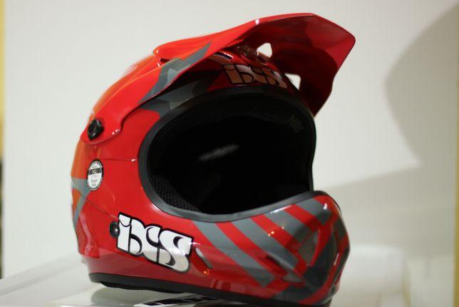 Kask Rowerowy IXS PHOBOS rozm. XL 61 - 62 cm RED - BLACK