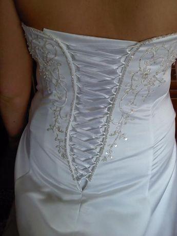 sprzedam biała suknie ślubna roz. 46- 48-50
