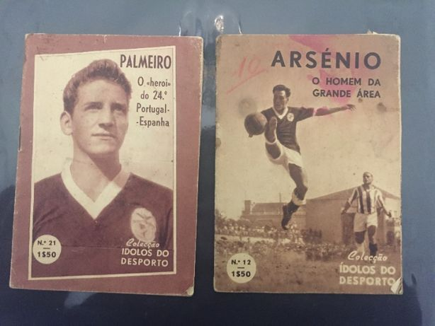 Livros Coleçāo Idolos do Desporto (2 Livros)