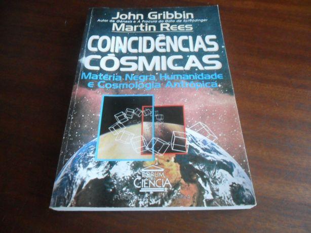 """""""Coincidências Cósmicas"""" de John Gribbin e Martin Rees"""