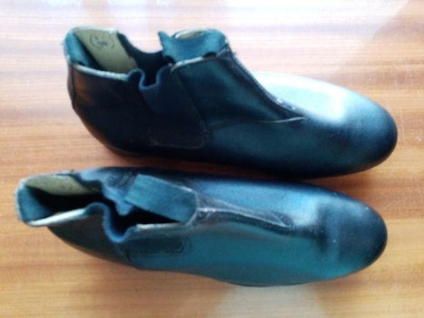 Buty robocze skórzane sztyblety