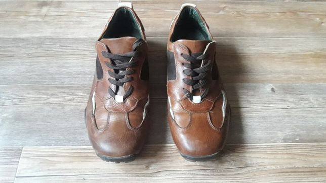Кроссовки, туфли Reporter кожа на стопу 27-27,5 см. Lloyd. Clarks