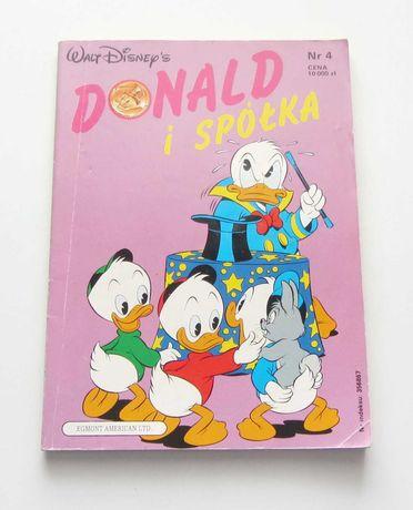 Komiks Donald i Spółka z 1991 r. nr 4
