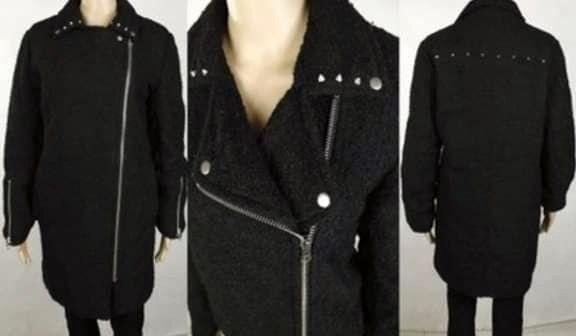 Kurtka płaszcz M 38 zara płaszczyk rozkloszowany ramoneska