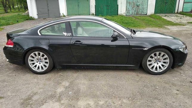 BMW 645CI serii 6 Anglik, dokument V5C Zamiana, zamienię