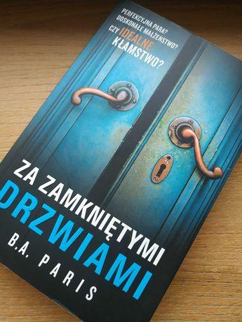 Za zamkniętymi drzwiami B.A. Paris kryminał thriller bestseller