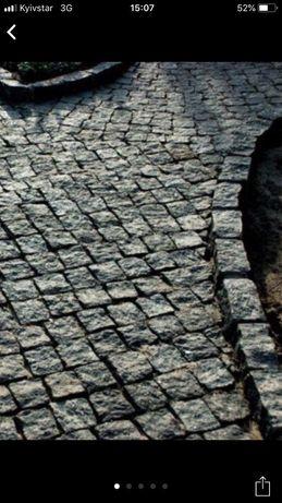 Брусчатка.Тропы с натурального камня ( гранит)