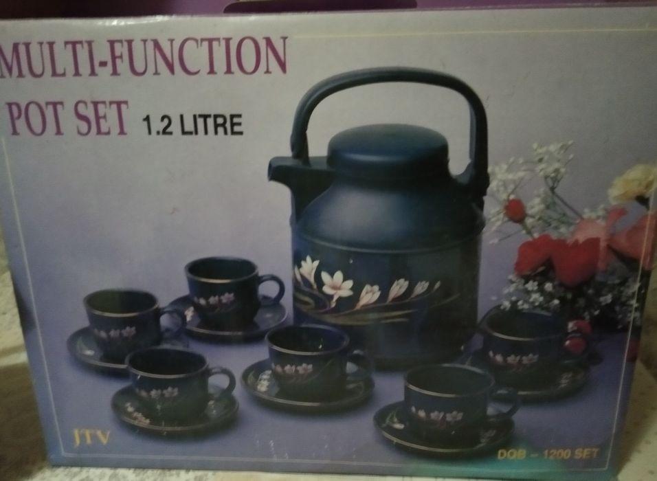 Чайный сервиз с чайником термосом Днепр - изображение 1