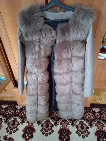 Мехова куртка еко-хутро