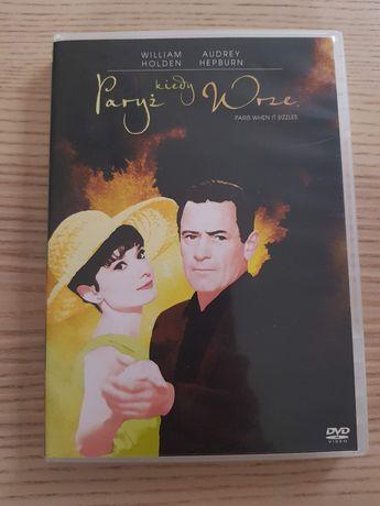 """""""Paryż kiedy wrze"""" film DVD edycja kolekcjonerska Audrey Hepburn"""