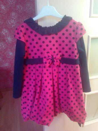 Платье для девочки 3-4лет