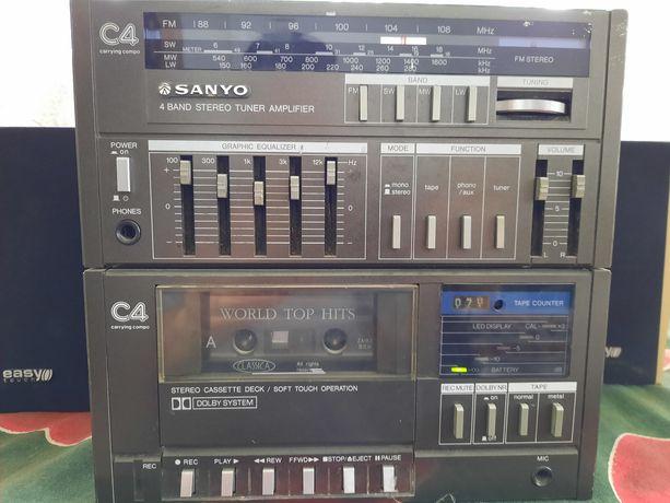 Sprzedam radio magnetofon SANYO C4R