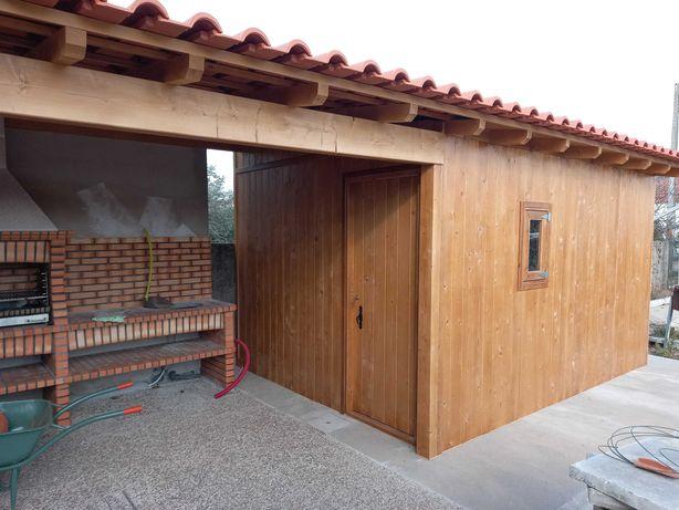 abrigos de madeira - Madeira&Conforto