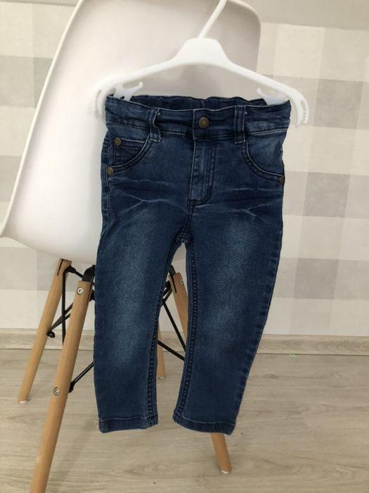 Spodnie jeansowe r. 86 Biała Podlaska - image 1