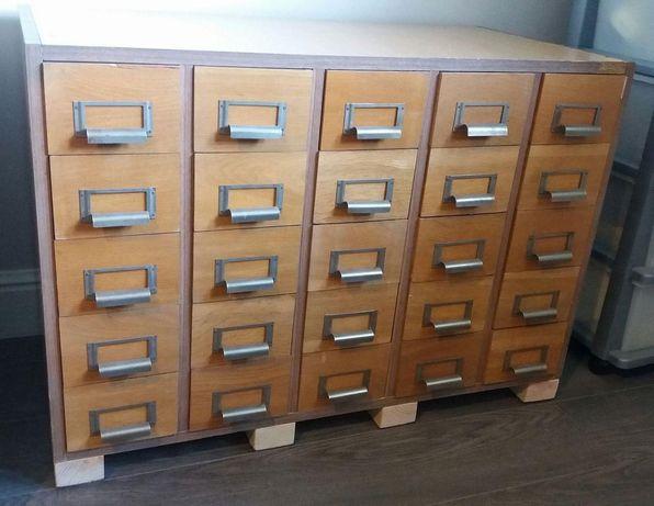 Szafka biblioteczna, katalogowa