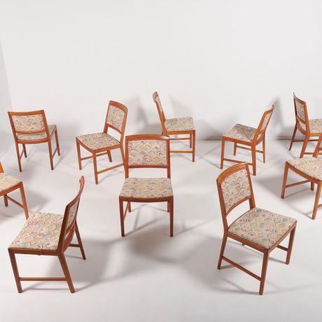 Cadeiras Jantar de Bertils Fridhagen - mid-century nordico vintage