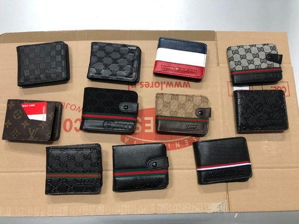 Portfele Meskie Gucci LV Boss Armani Tommy Monogram Premium