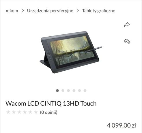 Tablet graficzny pen&touch display