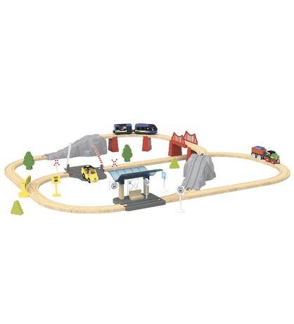 Деревянная железная дорога Playtive Junior