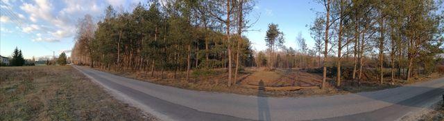 Działki budowlane przy lesie bezpośrednio