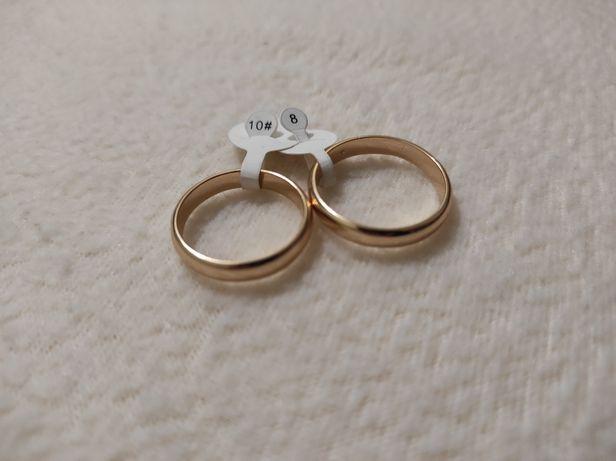Обручальные кольца из медицинского золота
