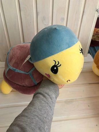 Детский плед+игрушка+подушка