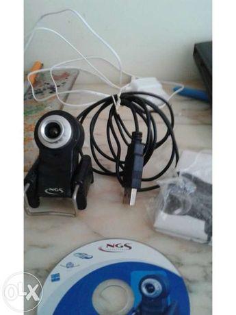 Webcam ngs bullseye + webcam creative go plus