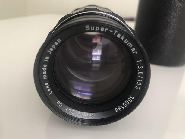 Objetiva ASAHI Pentax Super Takumar 135mm f/3.5 M42