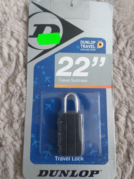DUNLOP kłódka bagażowa travel collection