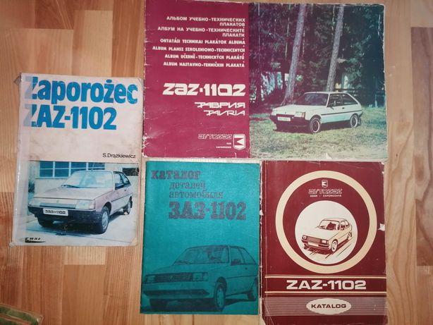 Zaz Tavria Dacia 1300 Wartburg 353 katalog części budowa eksploatacja