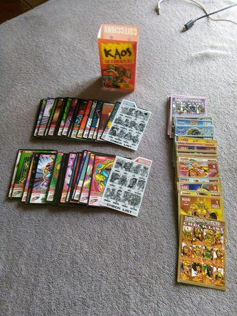 Lote 91 cartas/cromos BollyKaos - Bollycao