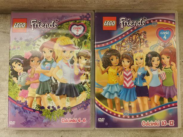 LEGO Friends część 2 i 4 DVD film