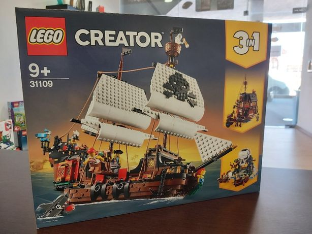 LEGO 31109 - Navio pirata (NOVO e SELADO)
