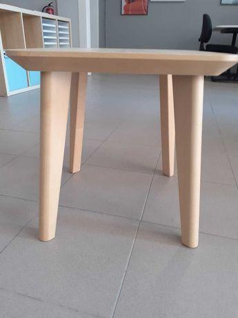 Mesa de Apoio LISABO IKEA - 45 x45 cm em Freixo