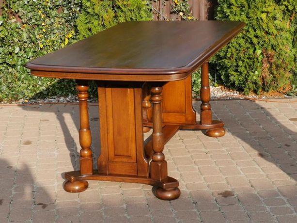 421 Ładny Stół dębowy ORYGINALNE NOGI