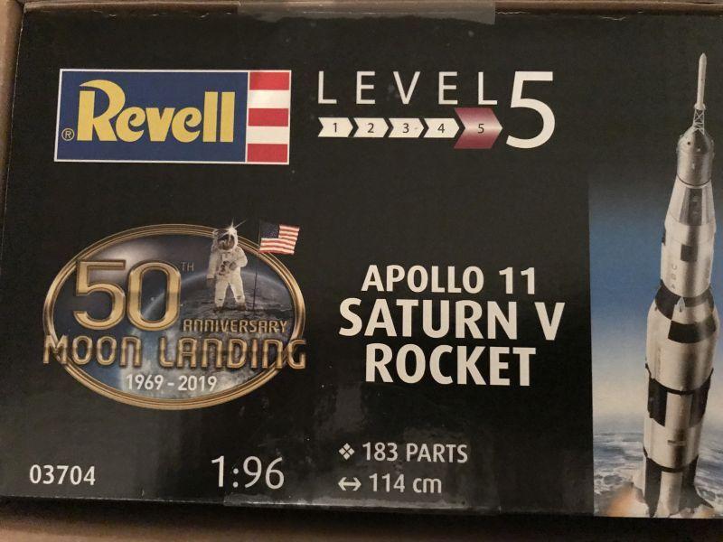 Revell 03704 Apollo 11 V Rocket Bydgoszcz - image 1
