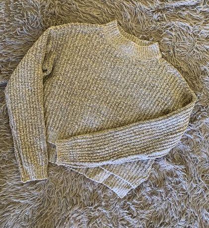 Сірий светр chr clockhouse серый свитер