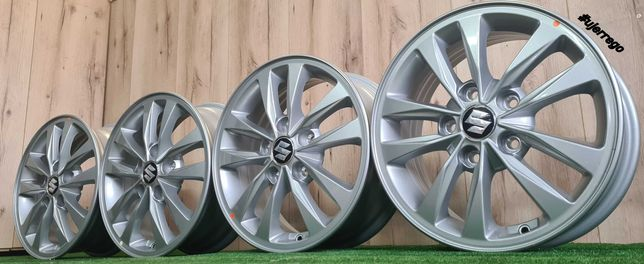 NOWE FELGI do Suzuki Grand Vitara, Swift, SX4, Vitara II 15x5x114,3