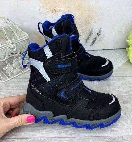 Распродажа зимние термо-ботинки b&g сапоги зимові черевики чоботи 35р.