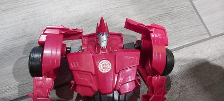 Transformers sideswipe czerwony rozkładany