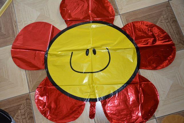 Balon na hel, duży kwiatek