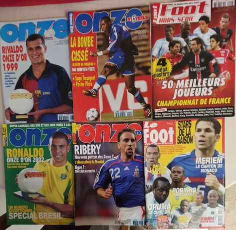 Revistas internacionais de futebol