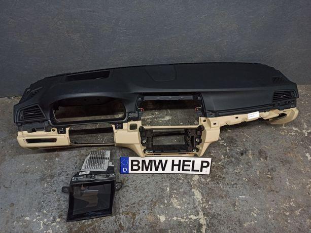 Панель Торпеда под Проекцию БМВ Ф10 Airbag Разборка BMW HELP