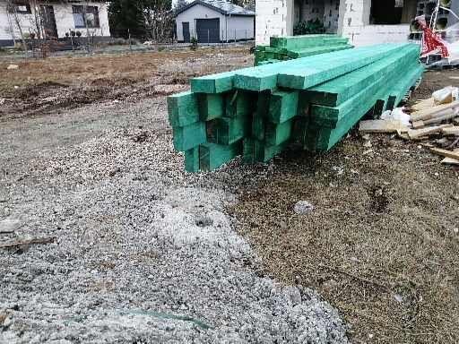 Więźba dachowa - drewno budowlane
