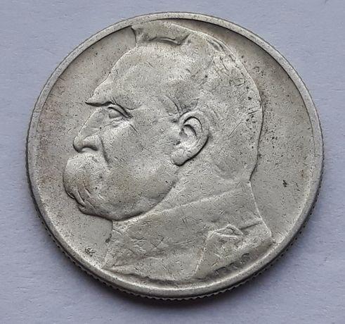 2 zł 1934 Józef Piłsudski- bardzo ładny stan monety II RP