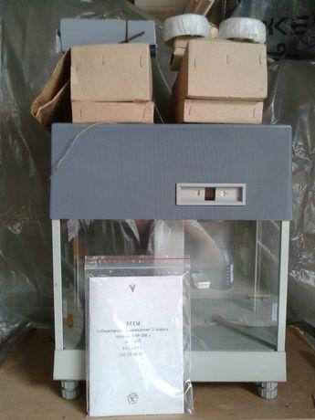 Весы лабораторные ВЛР-200 , аналитические, новые ( в упаковке)