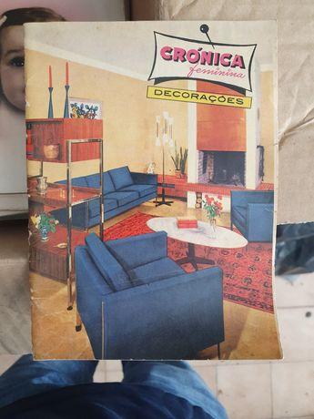Revista crónica antigas