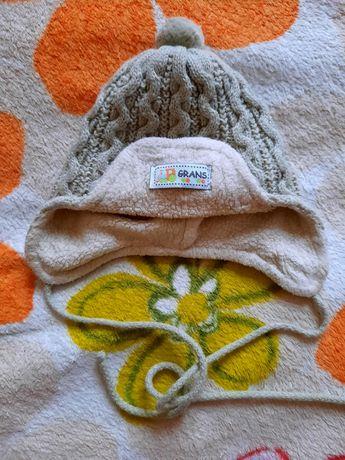 Тёплая шапочка для самых маленьких